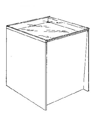 Super-Disk, glasmodul, ahorn, 60 cm