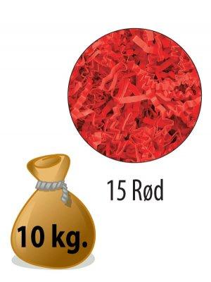 Sizzlepack - Rød - 10 kg