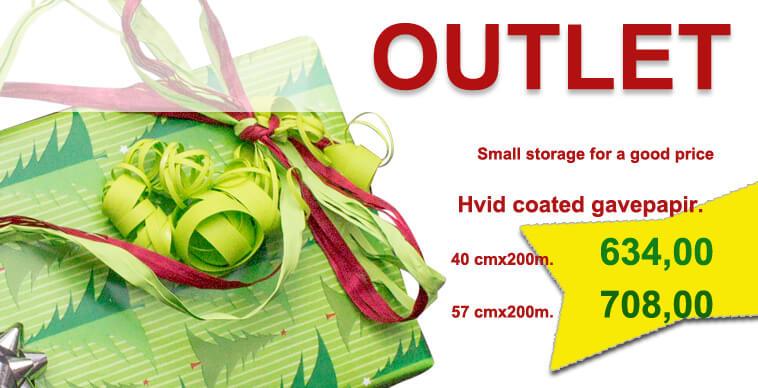 FO-grønt julepapir